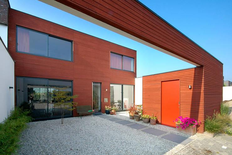 Projekty,  Domy zaprojektowane przez KENK architecten