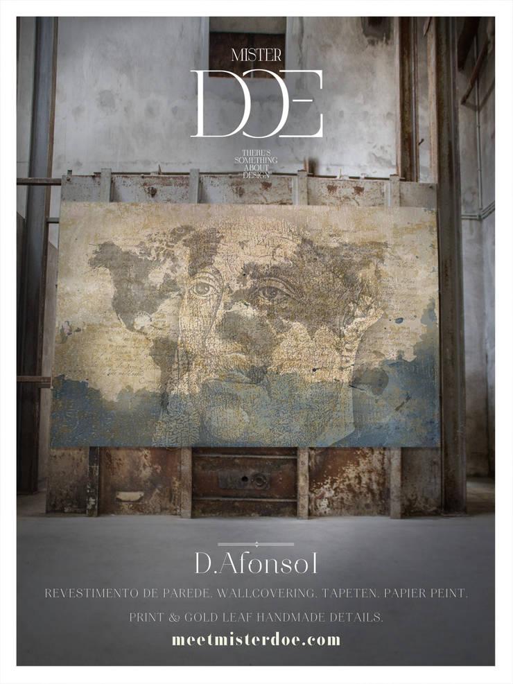 Revestimento de Parede D. Afonso: Casa  por Mr. Doe