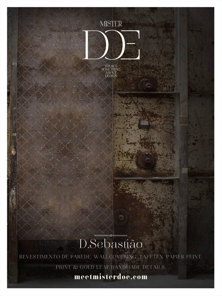 Revestimento de Parede - D. Sebastião: Casa  por Mr. Doe