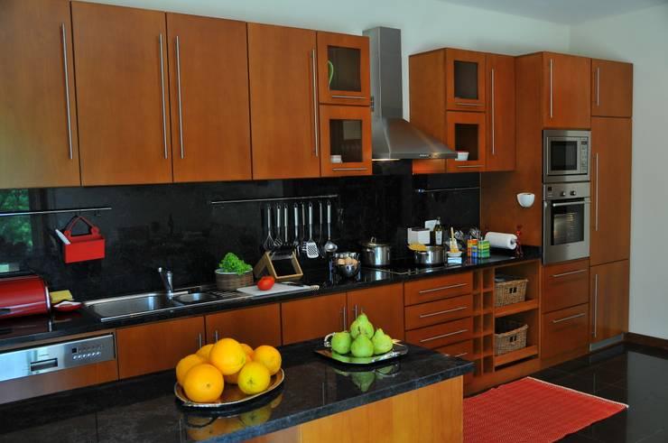 cozinha casa de particular : Cozinhas  por Luisa Pinho Arte e Decoração,Moderno
