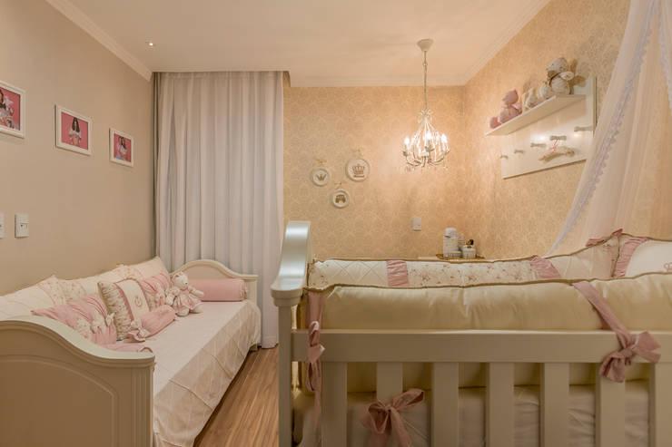 Projeto 2: Quarto infantil  por Cristiane Fernandes Designer de Interiores,