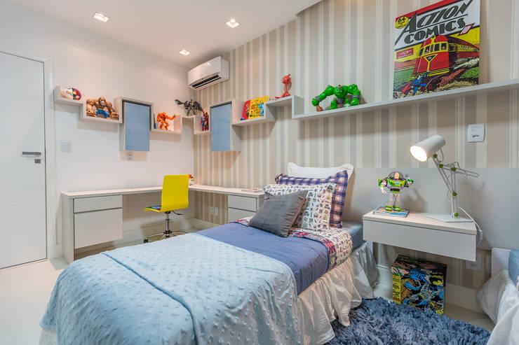 Projeto 3 Quarto infantil moderno por Cristiane Fernandes Designer de Interiores Moderno