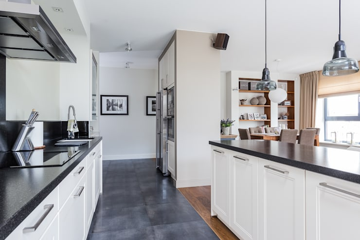 Mieszkanie z Miasteczka Wilanów: styl , w kategorii Kuchnia zaprojektowany przez Michał Młynarczyk Fotograf Wnętrz,