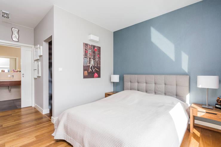 Mieszkanie z Miasteczka Wilanów: styl , w kategorii Sypialnia zaprojektowany przez Michał Młynarczyk Fotograf Wnętrz,