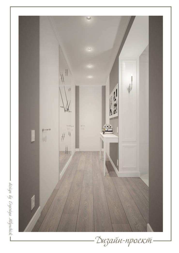 Апартаменты с ароматом роскоши: Коридор и прихожая в . Автор –  Евгения Млынчик