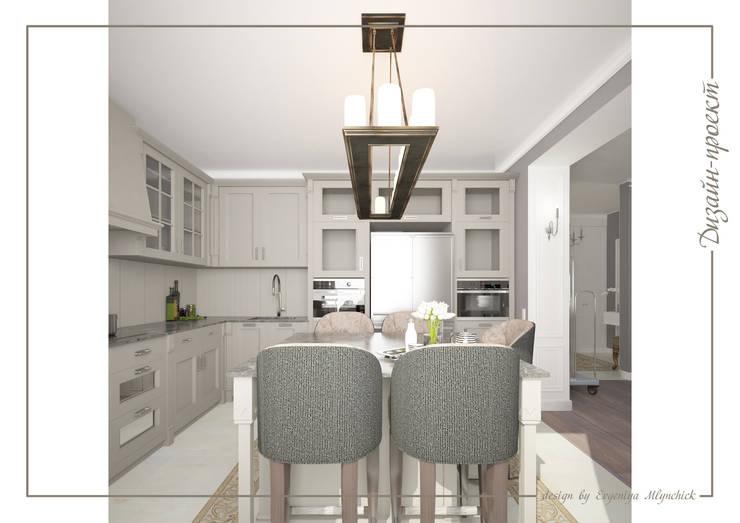 Апартаменты с ароматом роскоши: Кухни в . Автор –  Евгения Млынчик