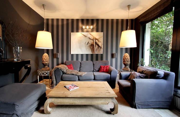 DOM 3: styl , w kategorii Salon zaprojektowany przez 2kul INTERIOR DESIGN
