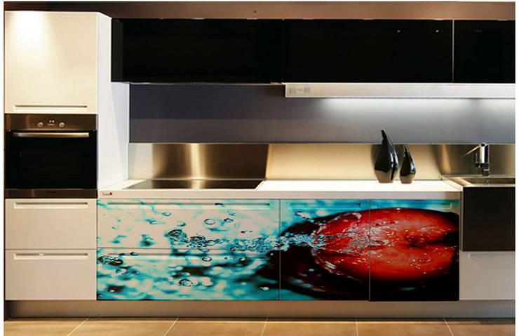 La primera impresión es la que cuenta.: Cocina de estilo  por Utopia Interiorismo