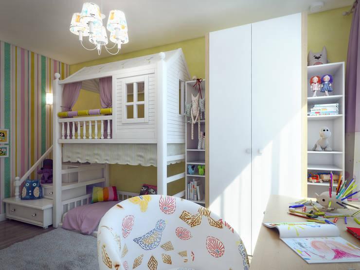 Dormitorios infantiles de estilo  de Details, design studio, Ecléctico