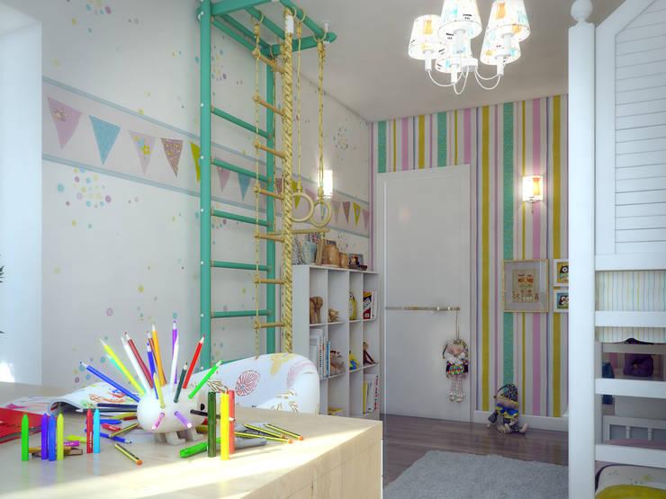 Дизайн-проект в ЖК Миргород: Детские комнаты в . Автор – Details, design studio, Эклектичный