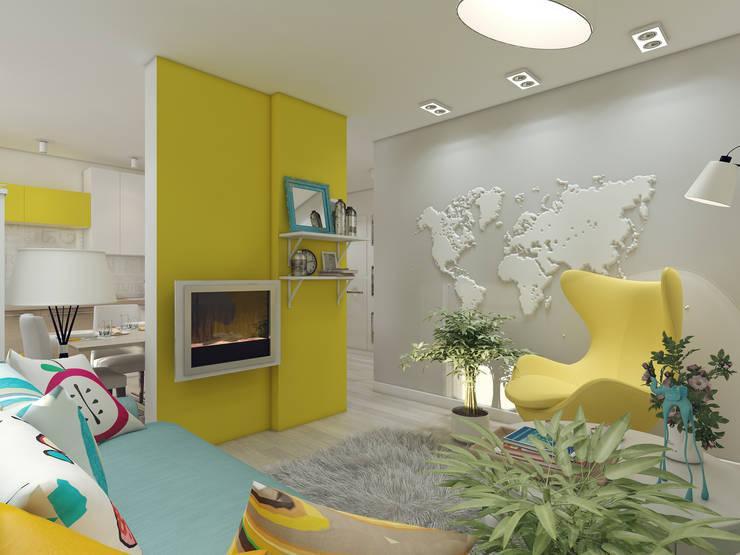 Salones de estilo  de Details, design studio, Ecléctico