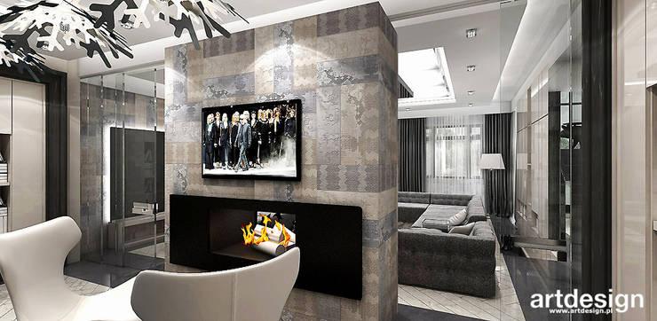 domowy gabinet: styl , w kategorii Domowe biuro i gabinet zaprojektowany przez ARTDESIGN architektura wnętrz