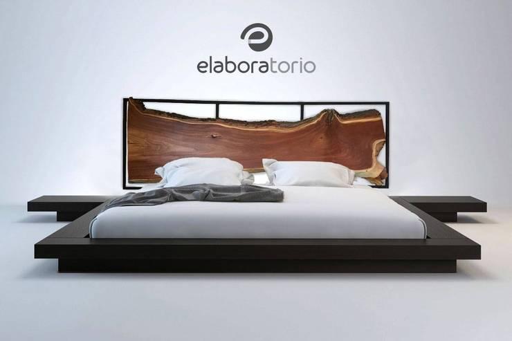 Mobiliario: Recámaras de estilo  por Elaboratorio
