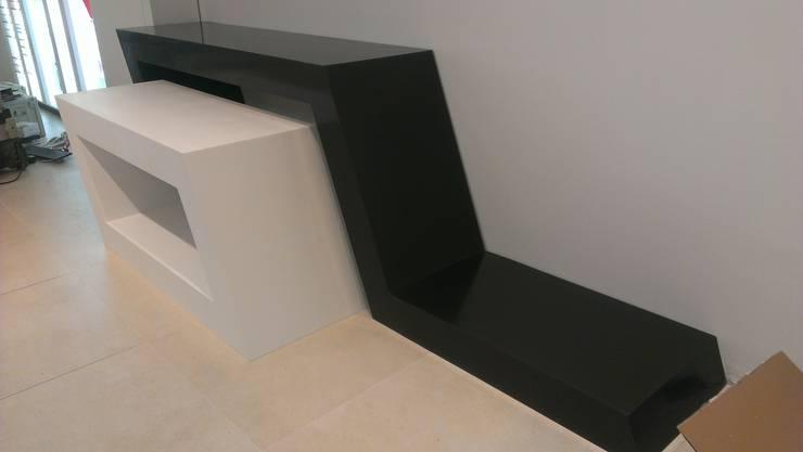 moderne Woonkamer door Art de l'Espace