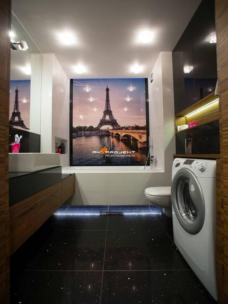 Modern bathroom by MYSprojekt projektowanie wnętrz Modern