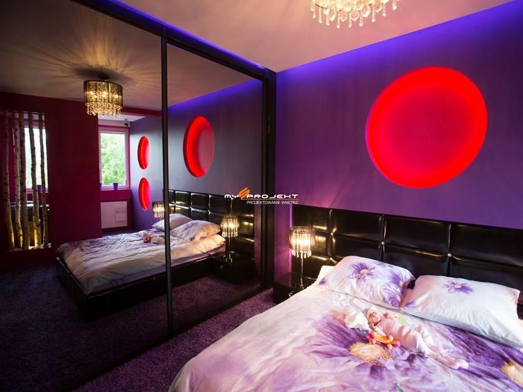 Modern style bedroom by MYSprojekt projektowanie wnętrz Modern