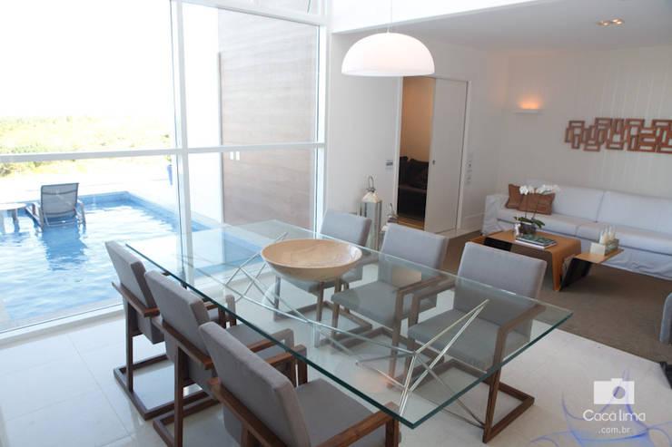 moderne Eetkamer door Livia Tavares - Homify
