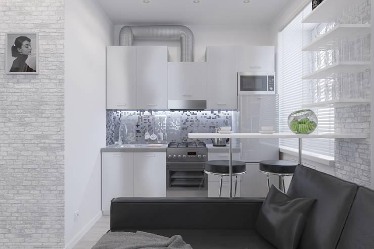 3д-визуализация и дизайн-проект квартиры в г. Люберцы: Столовые комнаты в . Автор – Антон Булеков