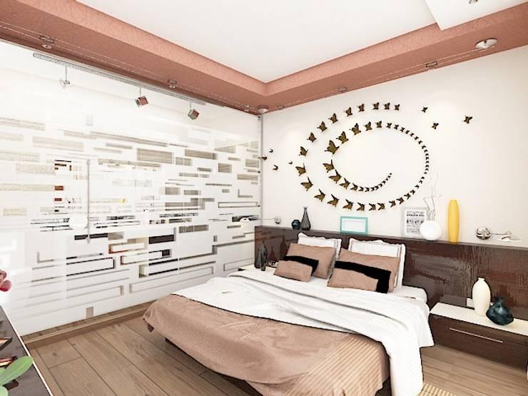 Спальни в . Автор – Дизайн студия Марины Геба