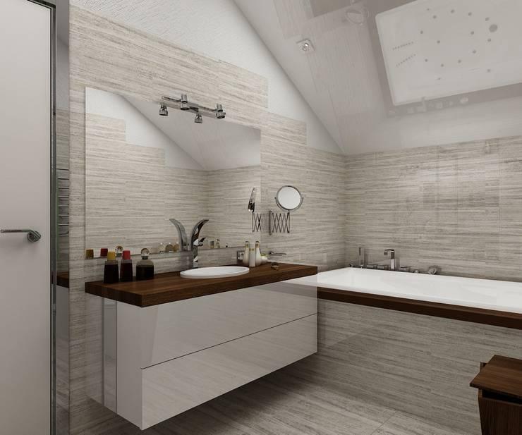 Ванные комнаты в . Автор – Дизайн студия Марины Геба