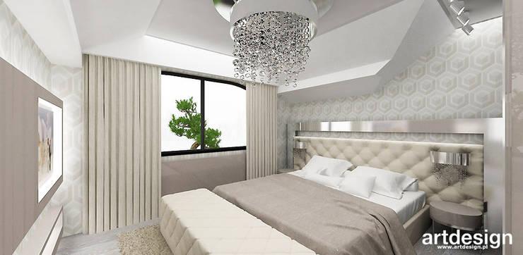 Schlafzimmer von ARTDESIGN architektura wnętrz