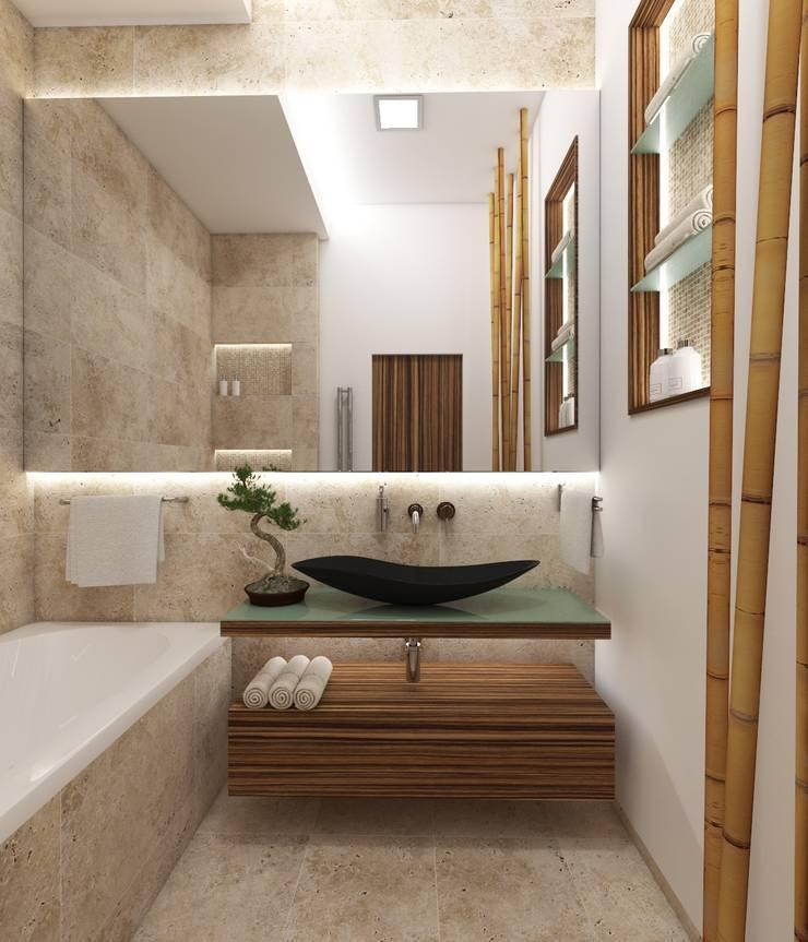 Natur Badezimmer Fuji Von Perfecto Design Homify