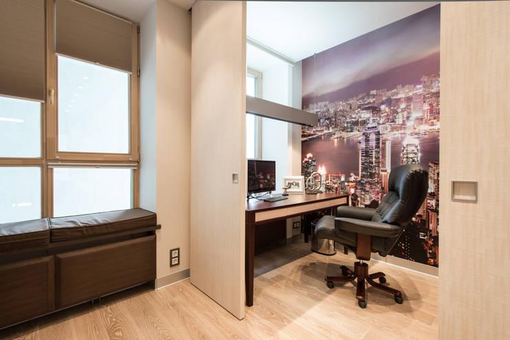 Men's apartment: Рабочие кабинеты в . Автор – Ольга Райская