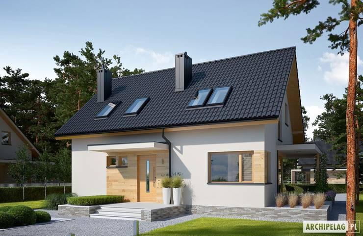 บ้านและที่อยู่อาศัย by Pracownia Projektowa ARCHIPELAG