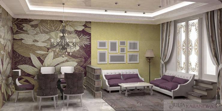 дизайн проект на проспекте Маршала Жукова: Столовые комнаты в . Автор – JULIA KABANOVA's DESIGN STUDIO