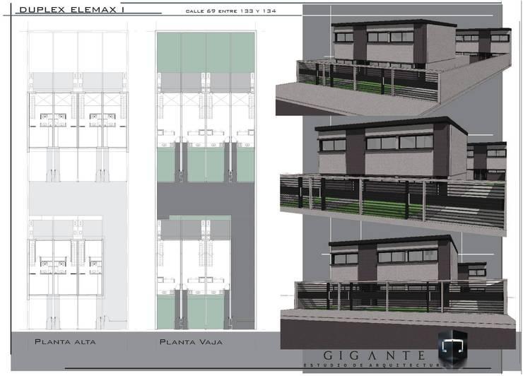 Presentacion de Proyecto: Casas de estilo  por Gigante ::: Estudio de Arquitectura