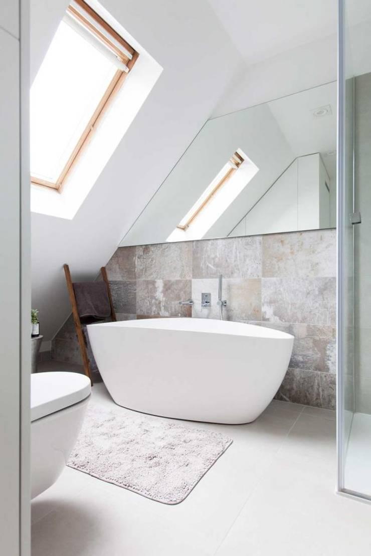 Realizacja 13 : styl , w kategorii Łazienka zaprojektowany przez MGN Pracownia Architektoniczna,Nowoczesny