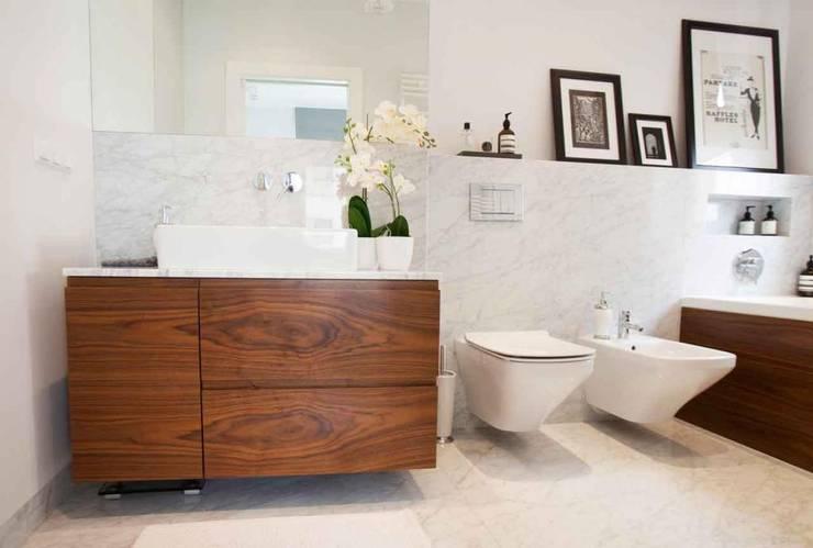 Realizacja 12 : styl , w kategorii Łazienka zaprojektowany przez MGN Pracownia Architektoniczna