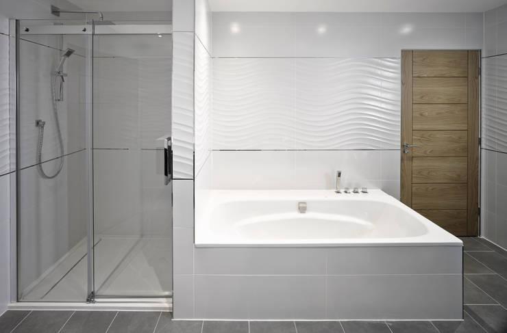 Projekty,  Łazienka zaprojektowane przez ID Architecture