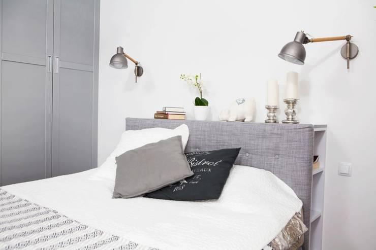 Realizacja 11: styl , w kategorii Sypialnia zaprojektowany przez MGN Pracownia Architektoniczna,
