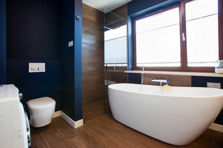Realizacja 8: styl , w kategorii Łazienka zaprojektowany przez MGN Pracownia Architektoniczna