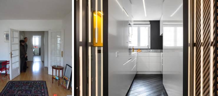Appartement ludique 70m2:  de style  par Créateurs d'interieur