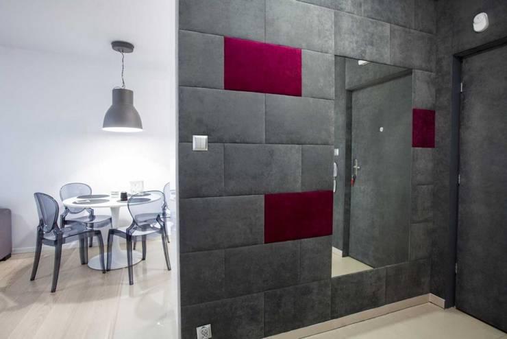 Corridor & hallway by MGN Pracownia Architektoniczna