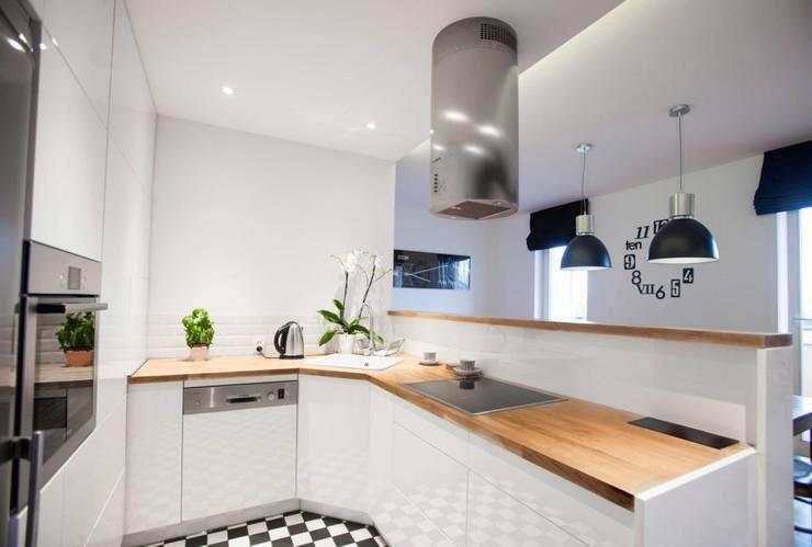 Realizacja 6: styl , w kategorii Kuchnia zaprojektowany przez MGN Pracownia Architektoniczna