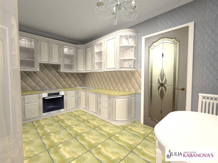 Дизайн проект на ул.Таганской: Кухни в . Автор – JULIA KABANOVA's DESIGN STUDIO