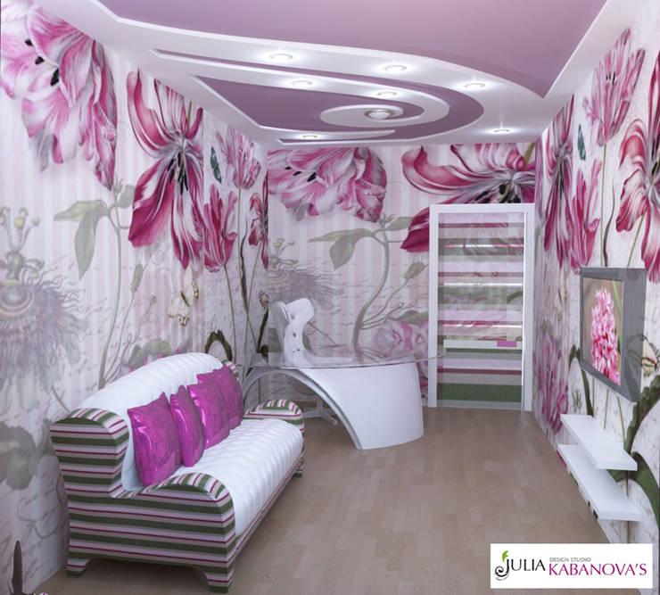 Дизайн проект на ул.Таганской: Детские комнаты в . Автор – JULIA KABANOVA's DESIGN STUDIO