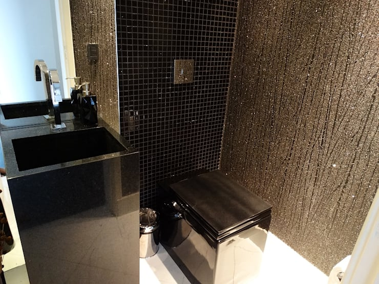 APÊ RC | LAVABO: Banheiros  por CAROLINA KLEEBERG