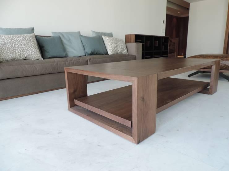 Carpintería de obra y mobiliario. : Salas de estilo  por Spazio Interior