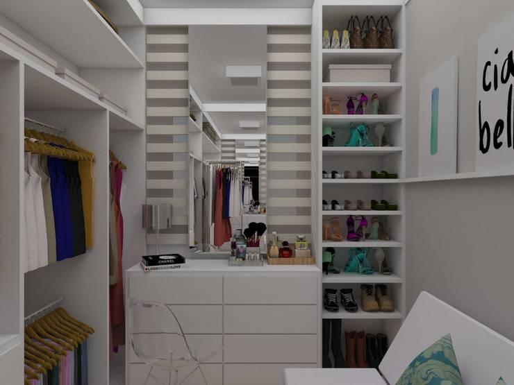 Dressing room by UNUM - ARQUITETURA E ENGENHARIA
