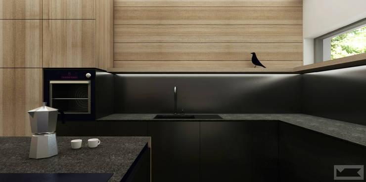 Modern style kitchen by KOZIEJ ARCHITEKCI Modern