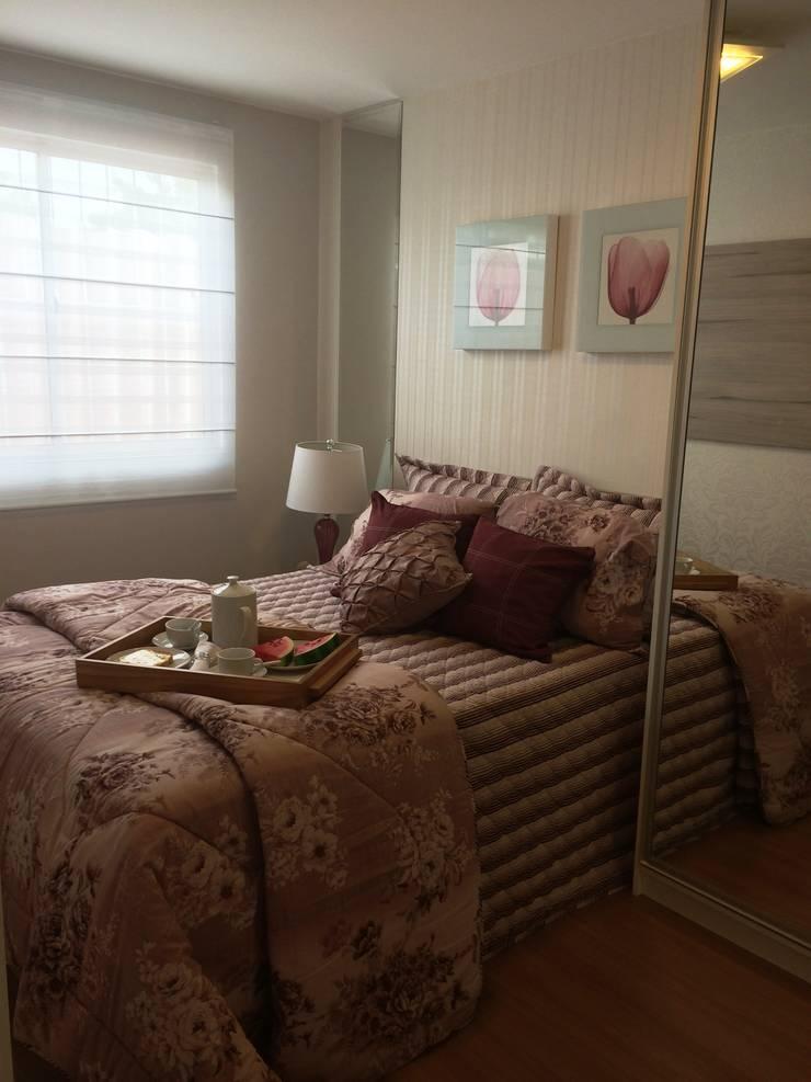 Bedroom by Débora Campos Arquiteta, Modern