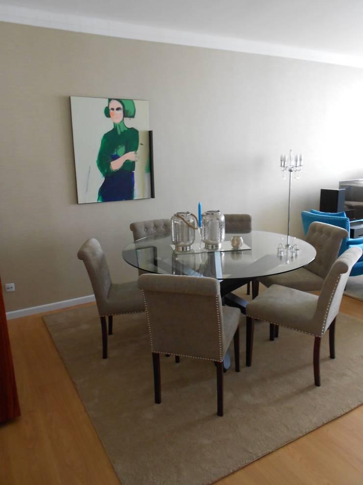 Zona de jantar:   por Interiores com alma