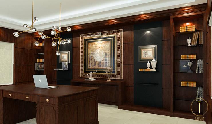Oficina A: Oficinas y tiendas de estilo  por Taller 03