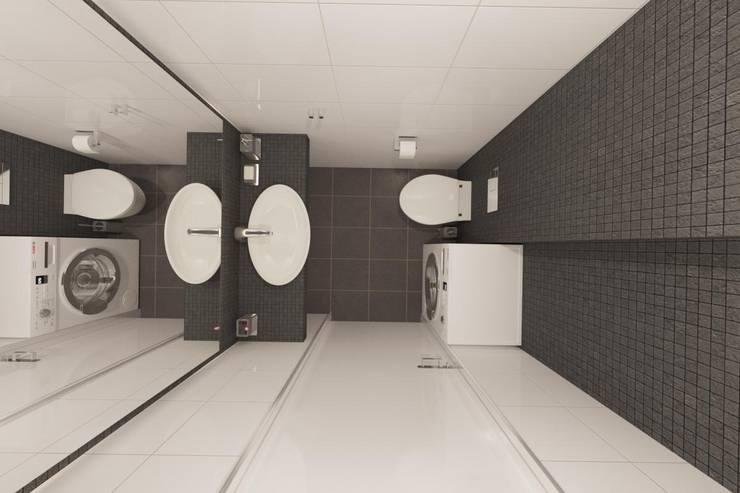 Проектик холостяка: Ванные комнаты в . Автор – Ivantsov design studio,