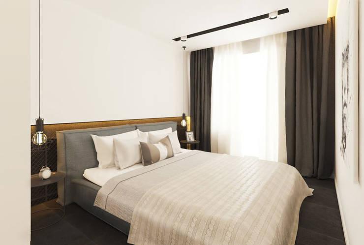 Проектик холостяка: Спальни в . Автор – Ivantsov design studio,