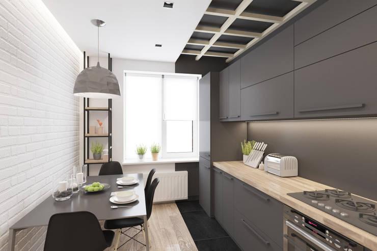 Cocinas de estilo  por Ivantsov design studio